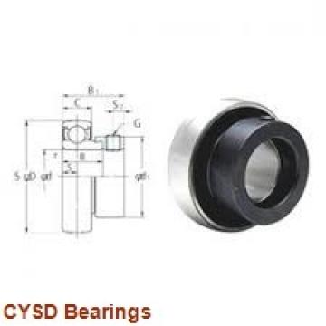 15 mm x 42 mm x 13 mm  15 mm x 42 mm x 13 mm  CYSD 7302BDF angular contact ball bearings