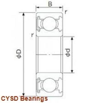 150 mm x 320 mm x 65 mm  150 mm x 320 mm x 65 mm  CYSD 7330DF angular contact ball bearings